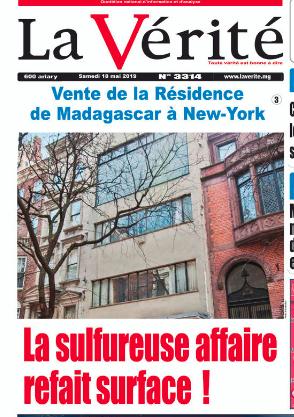Vente de la Résidence de Madagascar à New-York en 2007 – La sulfureuse affaire refait surface en 2019 – La vérité du 18 mai 2019